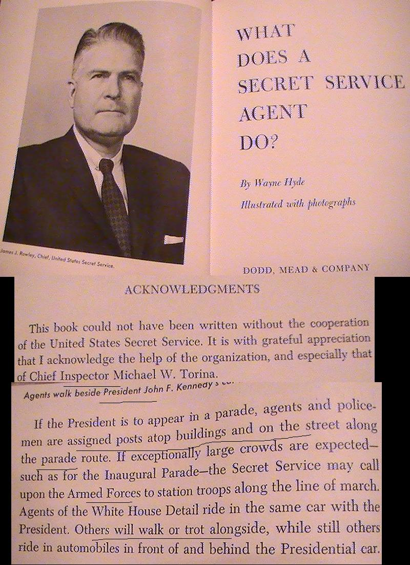 1962 era book (Mike Torina also wrote the Secret Service manual!)
