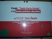 Este Centro ha sido galardonado con el Premio Tomás García Verdejo.