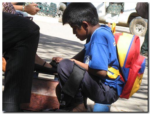 Niños trabajadores en Bolivia