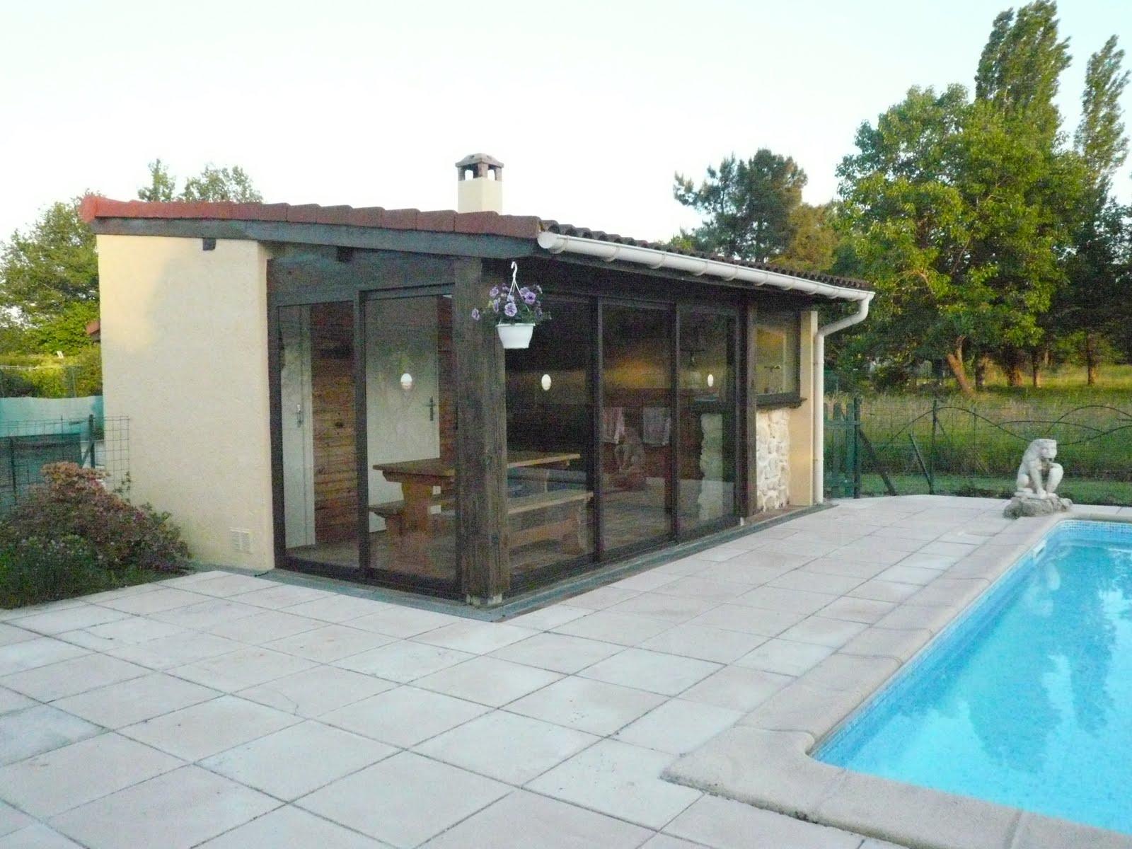 A vendre la maison ensoleill e terrasse pool house et - Photos pool house piscine ...