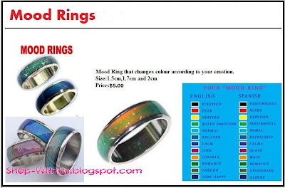 Shopppppp MOOD RING