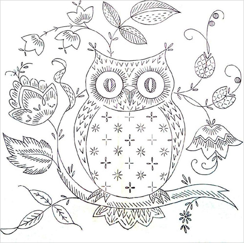 Stupendous image with printable owl pattern