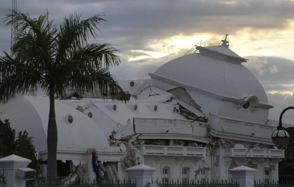 earthquake in Haiti.