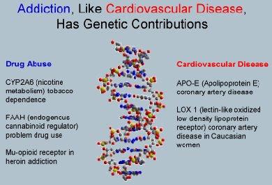alcohol addiction genetic uk