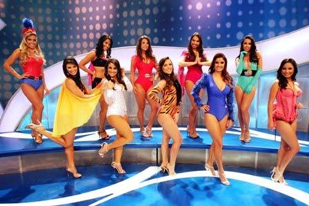 Bailarinas do SBT (Foto: Sérgio Neves / AE)