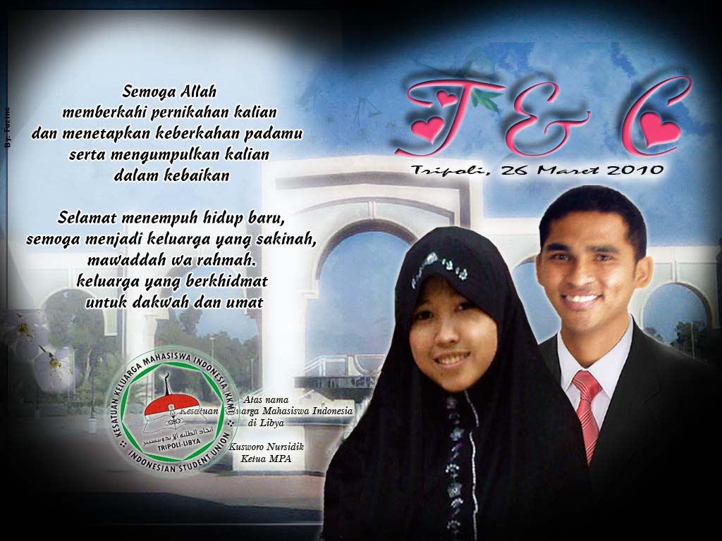 Ucapan Selamat Menempuh Hidup Baru Islami