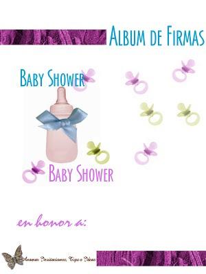 Image Hoy Les Dejo Estas Imagenes Para Armar Un Album De Firmas Baby ...