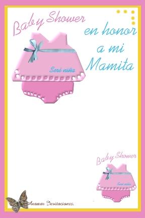 Anamar Invitaciones: Baby Shower