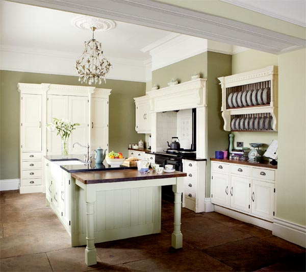 Relics Of Witney: How To Choose Kitchen Paint Colours