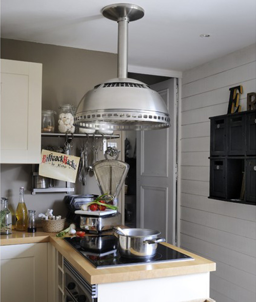 Industrial Chic Kitchen: Modern Country Style: Best Soft Industrial Home In The