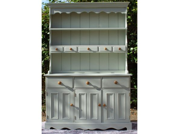 Farrow and Ball Blue Gray painted furniture