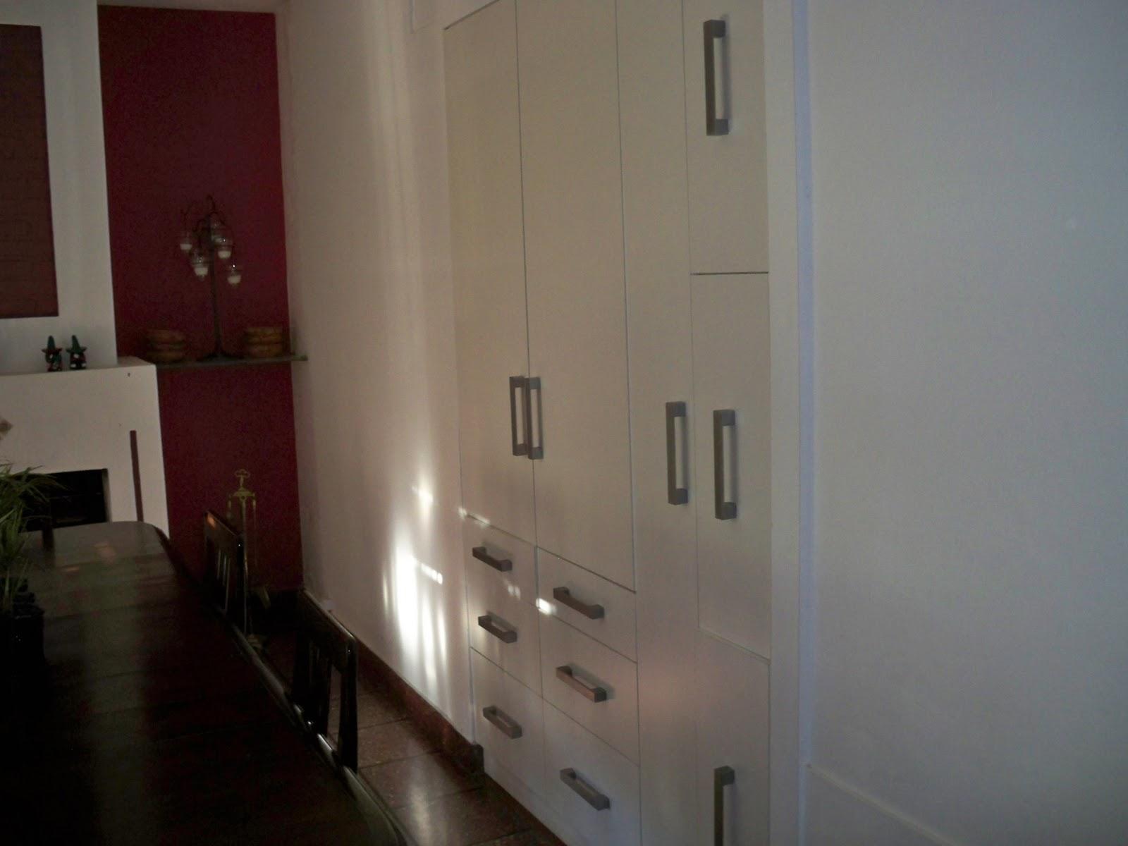 Aktual muebles despensero embutido en pared for Muebles de oficina sarmiento 1400