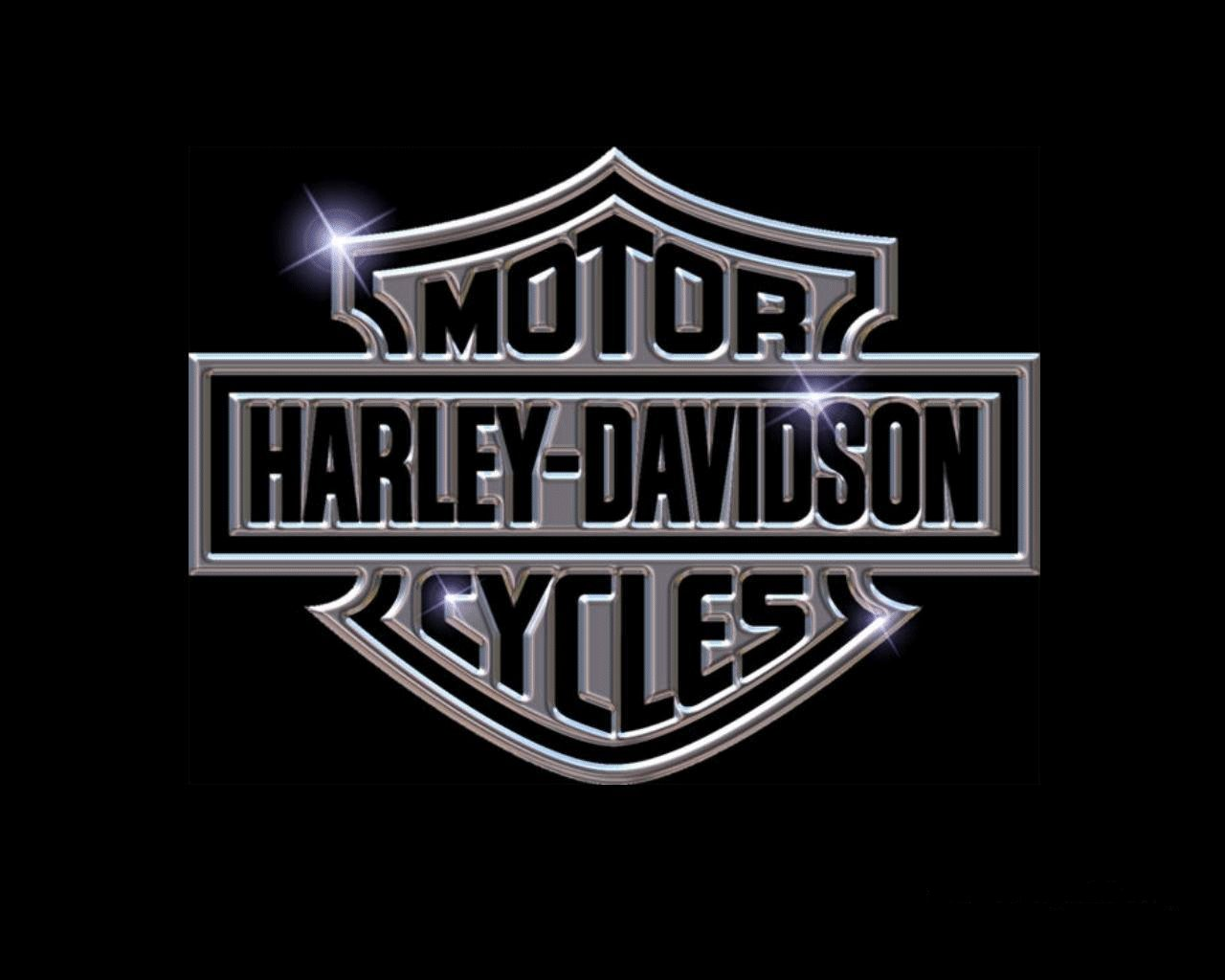 Harley Davidson Logo shine like a diamond