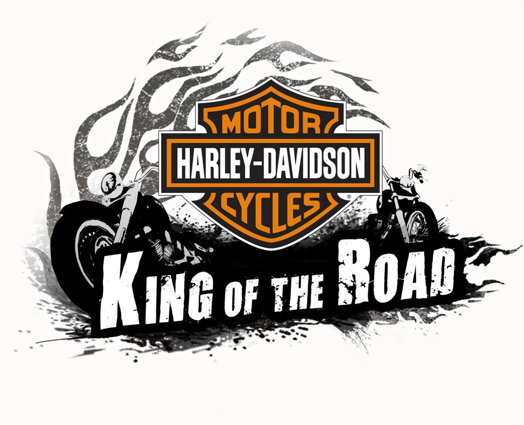 Harley Davidson Logo King of the Road