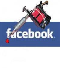 Anti Facebook tatto