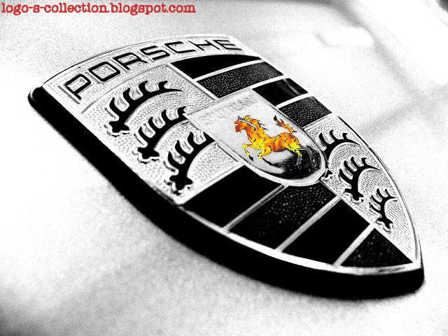 fire Porsche logo