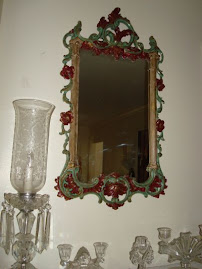 Re-Styled 1960's Plastic Mirror