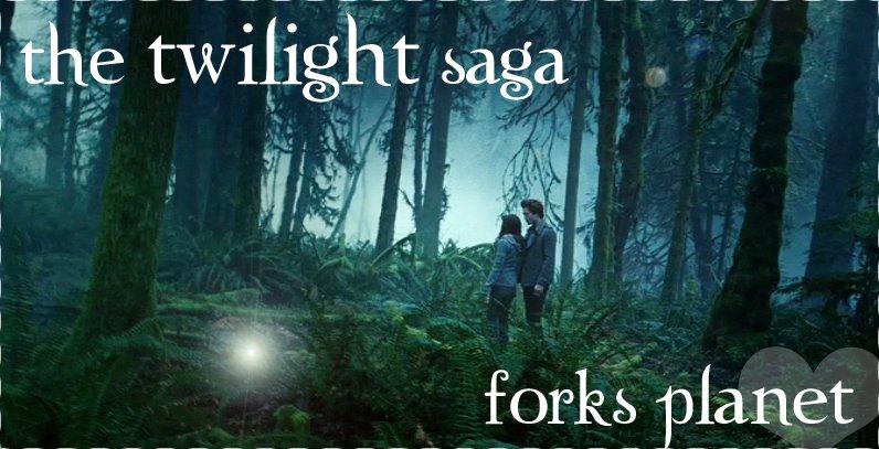 The Twilight Saga - Forks Planet, o blog!