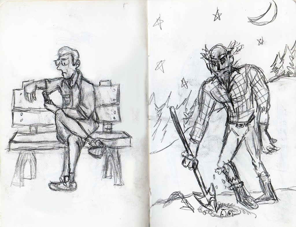 the amateur zoologist misc sketches. Black Bedroom Furniture Sets. Home Design Ideas