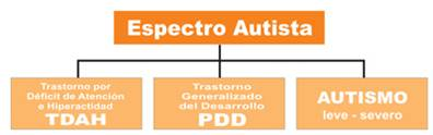 Diagnostico: Trastorno General del Desarrollo No Especificado