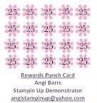 Rewards Punch Card