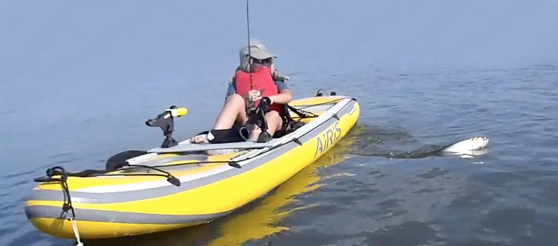 Cr beginner s luck kayak fishing singapore for Beginner fishing kayak