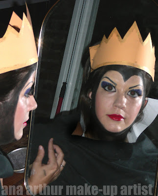 evil queen makeup. The Evil Queen.