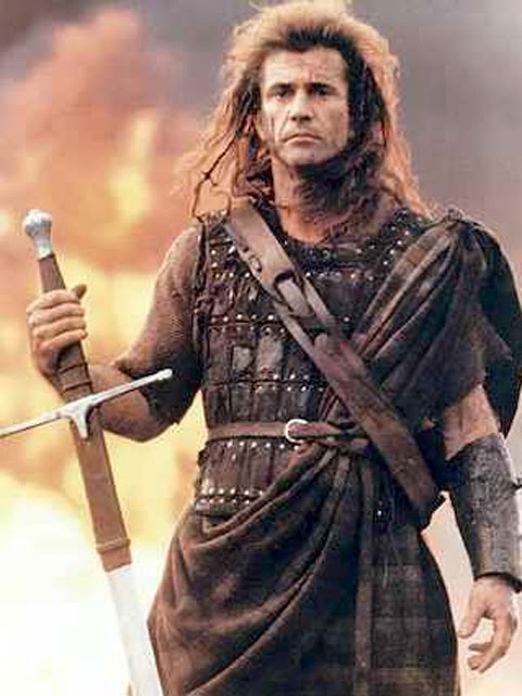 mel gibson braveheart freedom. makeup Mel Gibson fights for