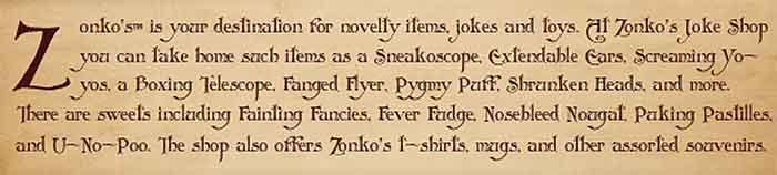 Zonko offer