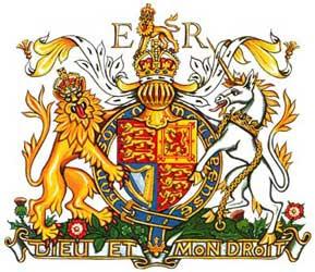 Escudo de armas de la Reina