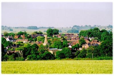 Hallaton village