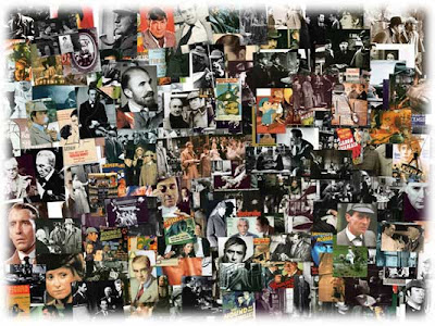Holmes movies collage