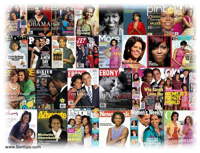 Michelle Obama magazines covers