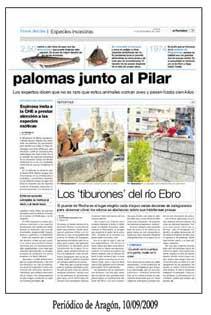 Periódico de Aragón 10-09-2009