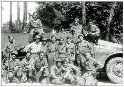 Amadis, soldados españoles