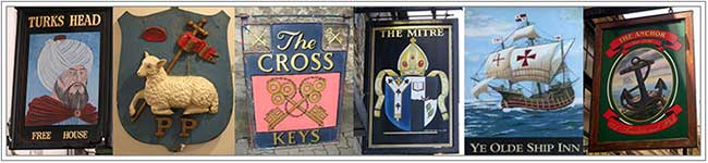 Ancient religious pub signs2
