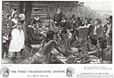 First Thanksgiving Dinner