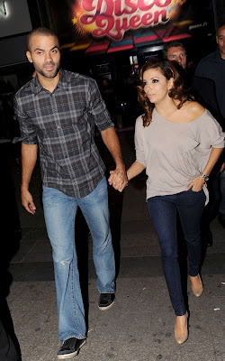 Eva Longoria, Tony Parker, Entertainment