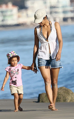 Halle Berry with her daughter Nahla,Entertainment