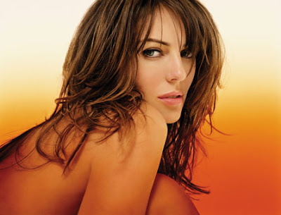 Elizabeth Hurley, English model, actress