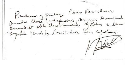 análisis de la firma de Nestor Kirchner
