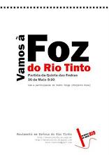 CAMINHADA ATÉ À FOZ DO RIO