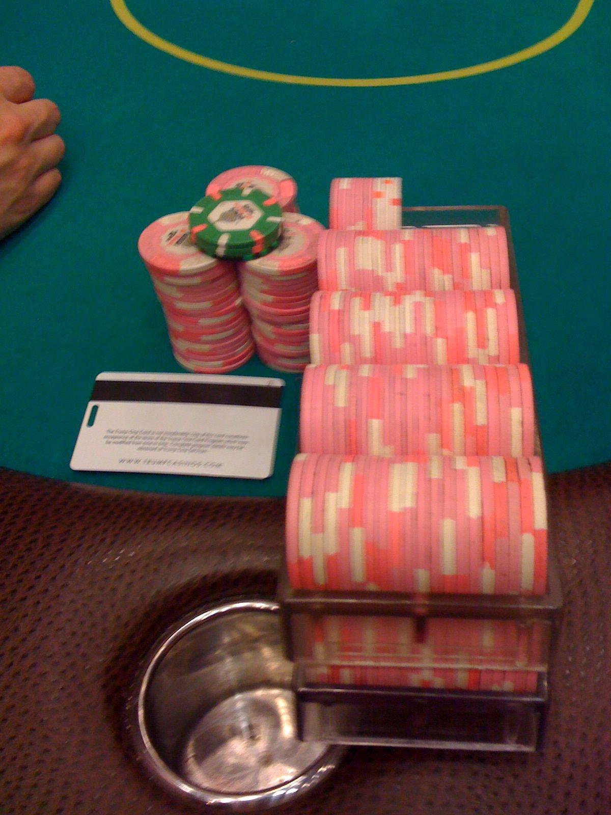Pink Chip Game at