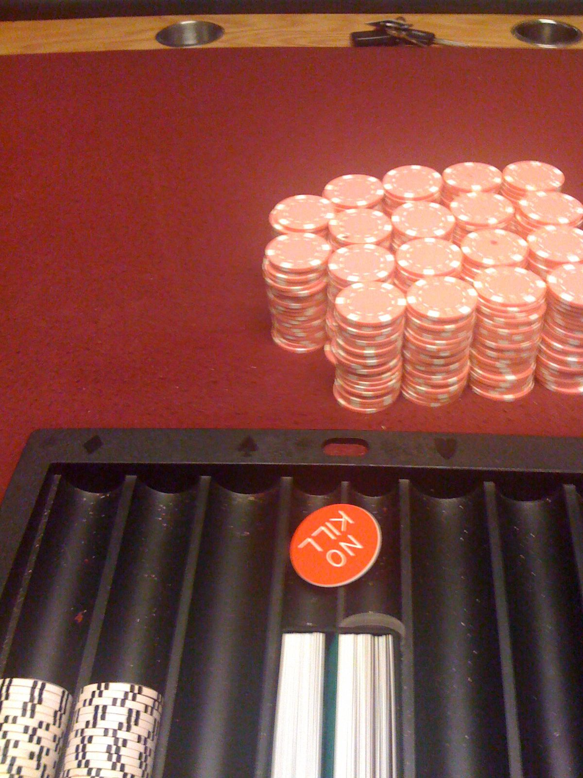 Dealing The Pink Chip Game