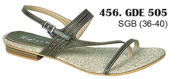 Sandal Cewek Kulit 456
