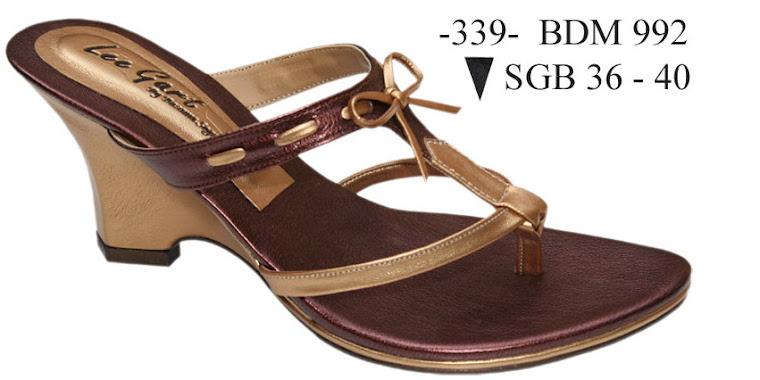 Sandal Cewek Kulit 339B
