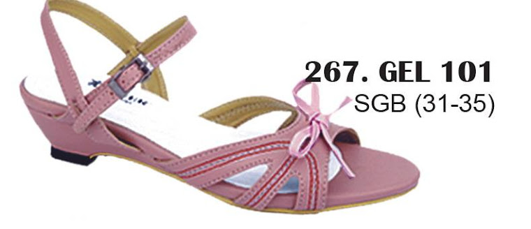 Sandal Cewek Kulit 267