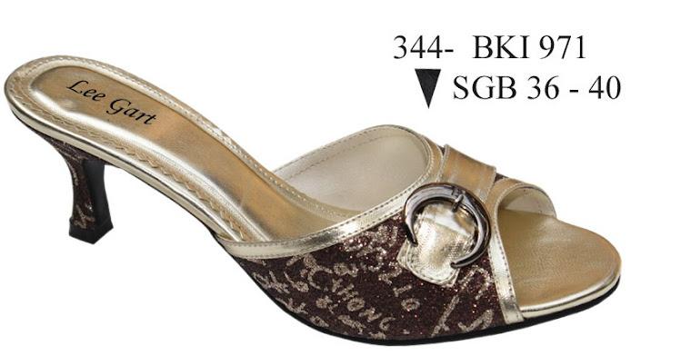 Sandal Cewek Kulit 344B