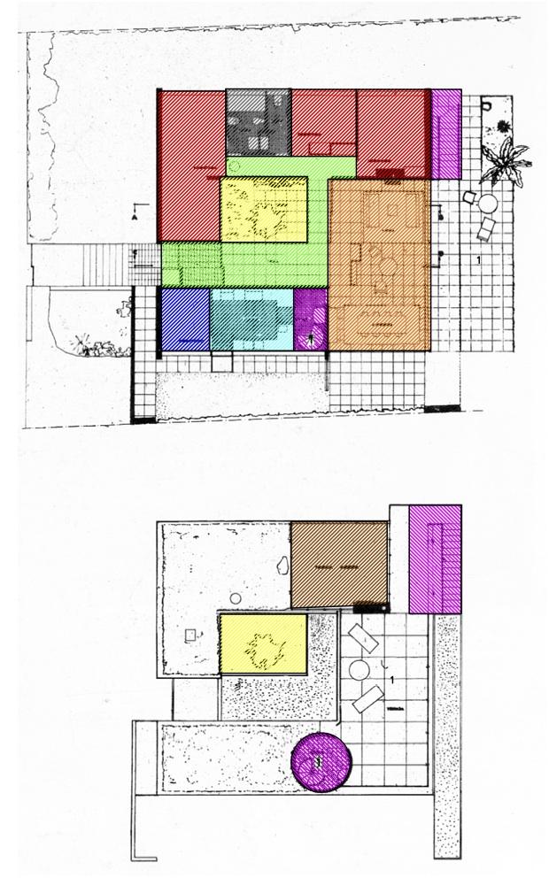 La arquitectura no es tortilla de patatas espacios y for Zonificacion arquitectonica