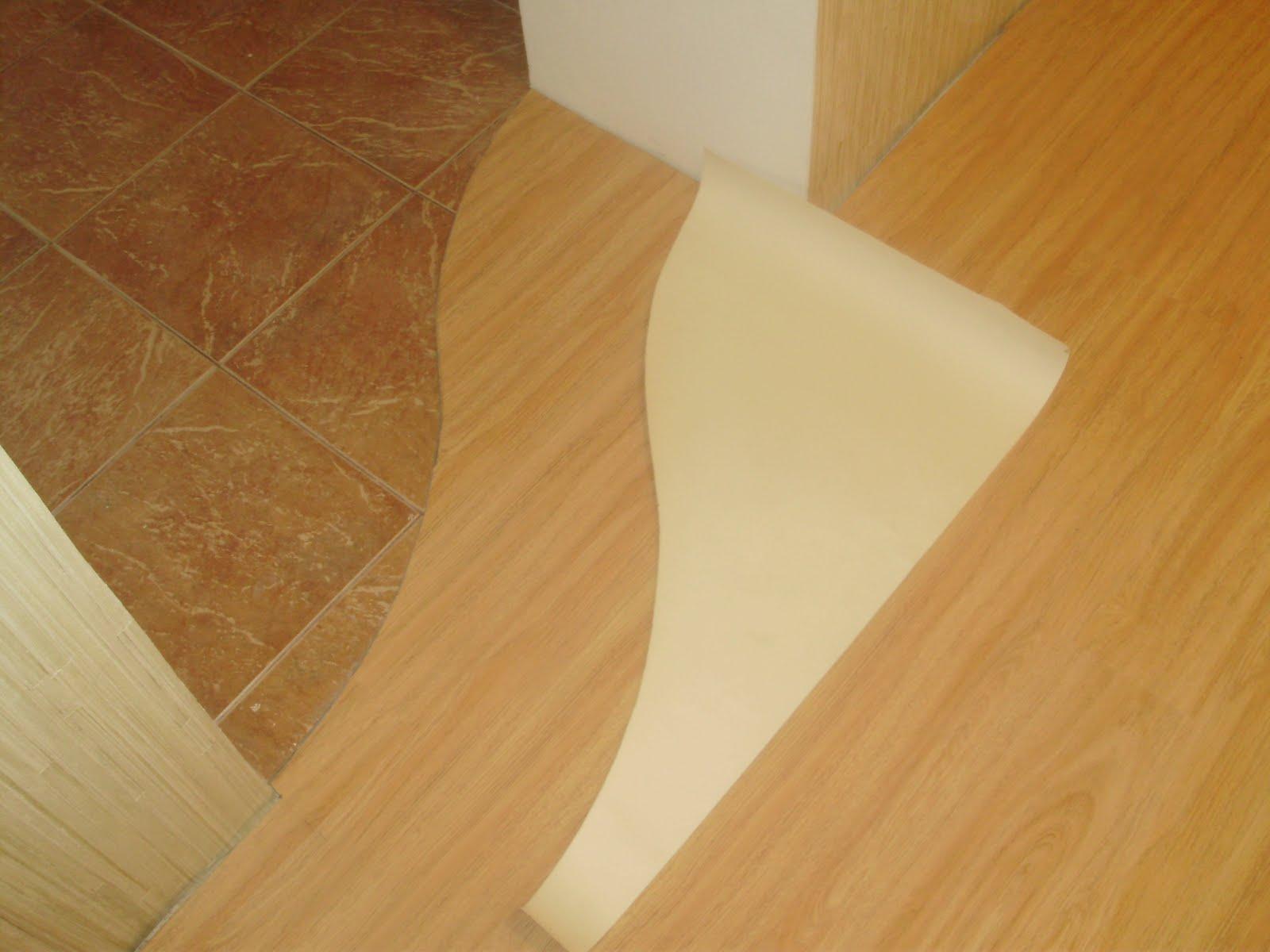 Как сделать переход от плитки к линолеуму с разницей в высоте